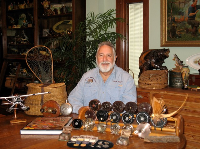 Lorne Hirsch with Angling Artifacts